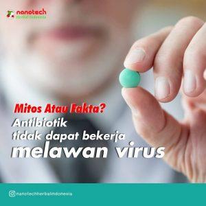 antibiotik tidak bekerja melawan virus