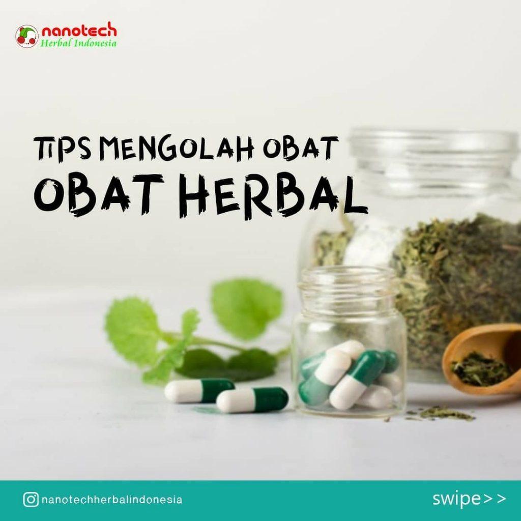 tips mengolah obat herbal