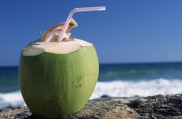 air kelapa murni